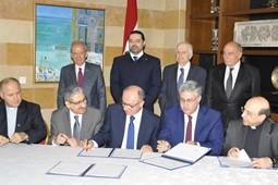 """توقيع اتفاقية تعاون بين """"المجلس الوطني للبحوث العلمية"""" وأربع جامعات لبنانية"""